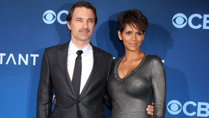 Halle Berry and Olivier Martinez go