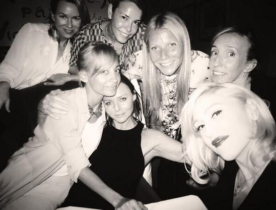 Gwen Stefani's mom night out picture