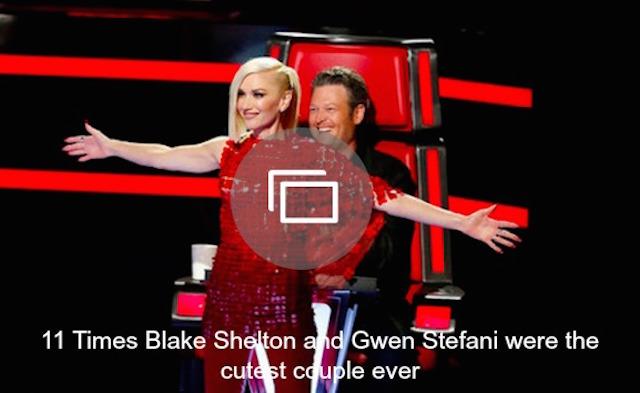 Gwen Stefani, Blake Shelton slideshow