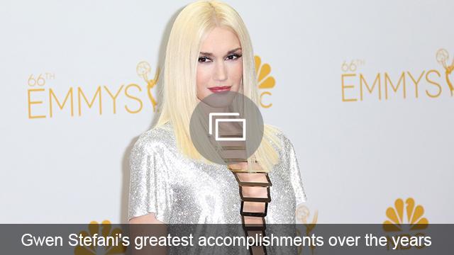 Gwen Stefani accomplishments slideshow