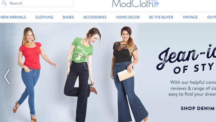 Woohoo! ModCloth makes history with no-Photoshop
