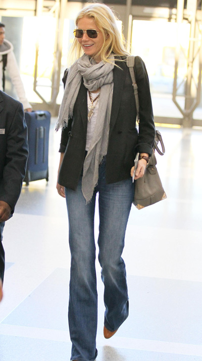 Gwyneth Paltrow's airport style