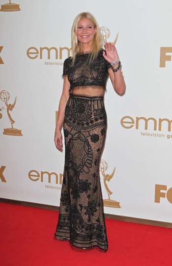 Gwyneth Paltrow worst dressed at the Emmys