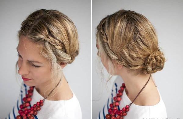 How to: Double braid hairstyle tutorial