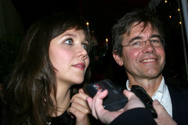 Celebrities with famous fathers: Maggie Gyllenhaal & Stephen Gyllenhaal