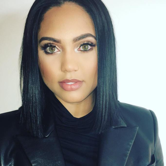 Ayesha Curry is just as beautiful on the outside as she is on the inside.