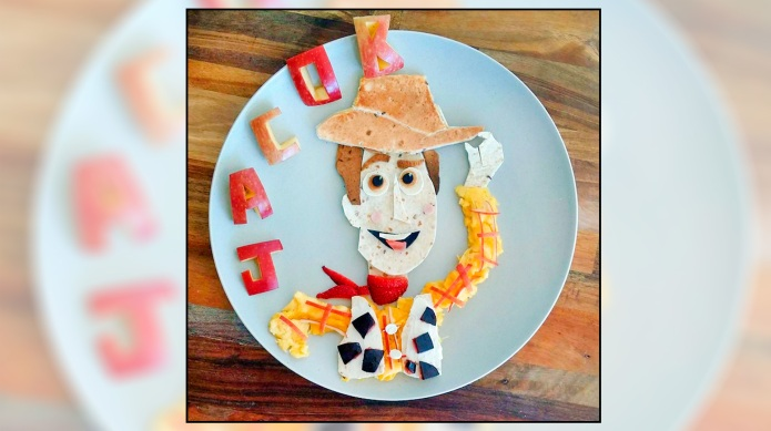 This mum's cartoon-inspired meals are about