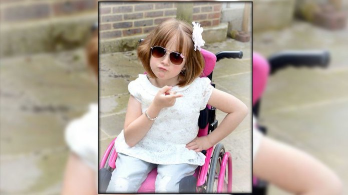 7-Year-old beauty queen is living proof