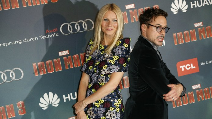 Gwyneth Paltrow & Robert Downey Jr.