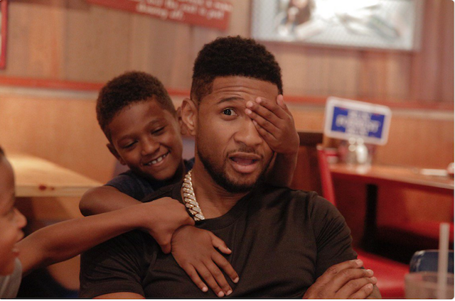 Celebrity Dads on Father's Day 2017: Usher