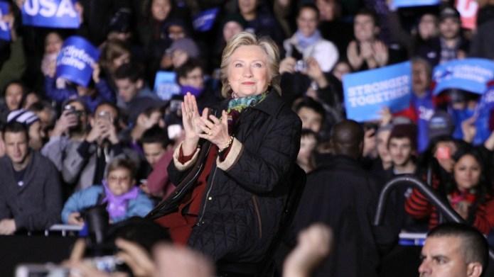 The nasty women at Hillary Clinton