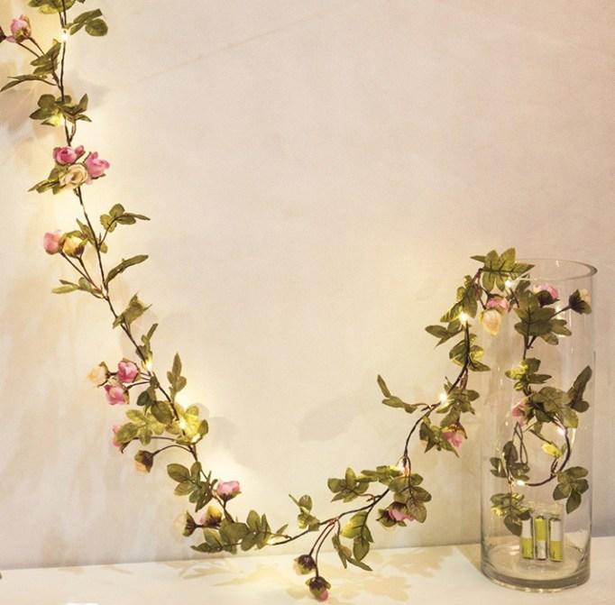 Flower Lead Garland