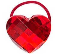 gymboree heart hair tie