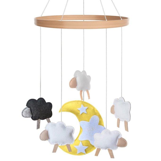 Sheep Crib Mobile