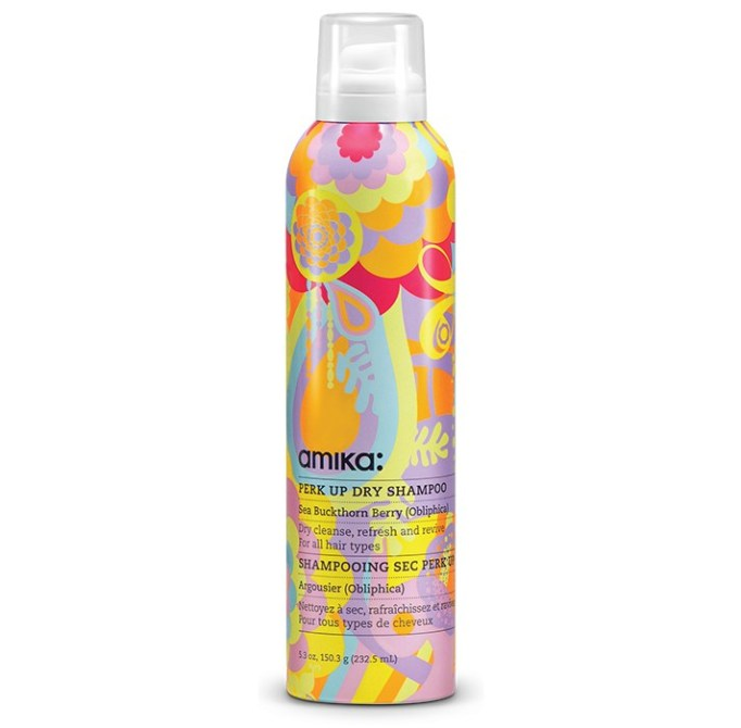 Products That Get Rid of Greasy Hair Fast   Amika Perk Up Dry Shampoo