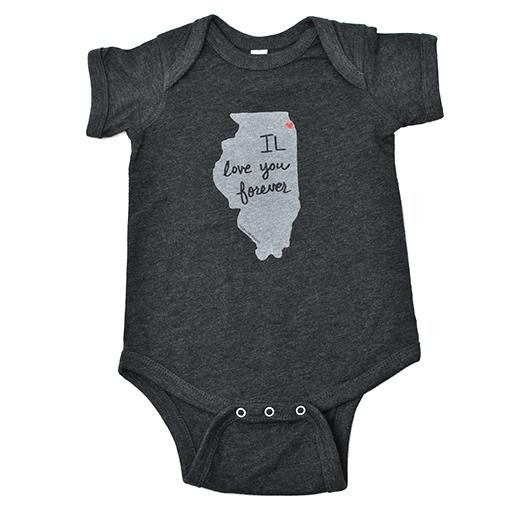 Illinois Baby Onepiece