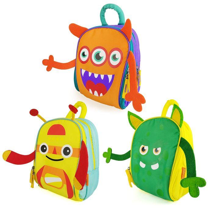 Zebrum Cute Cartoon Monster Lunch Boxes