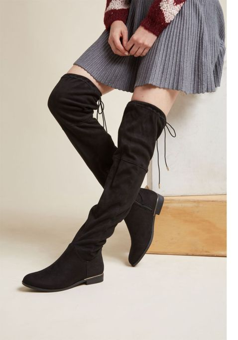 Best Pairs of Over-the-Knee Boots: Sass to Spare Thigh High Boot | Fall and Winter Fashion 2017