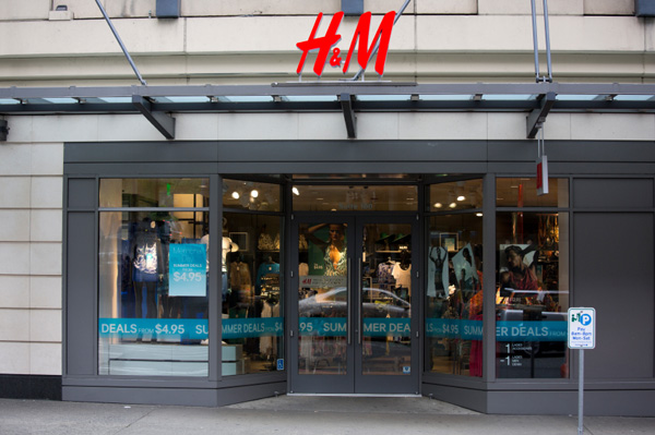 H&M store in Seattle