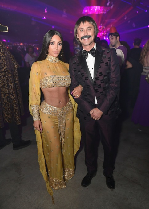 Best celebrity Halloween costumes 2017: Kim Kardashian & Jonathan Cheban