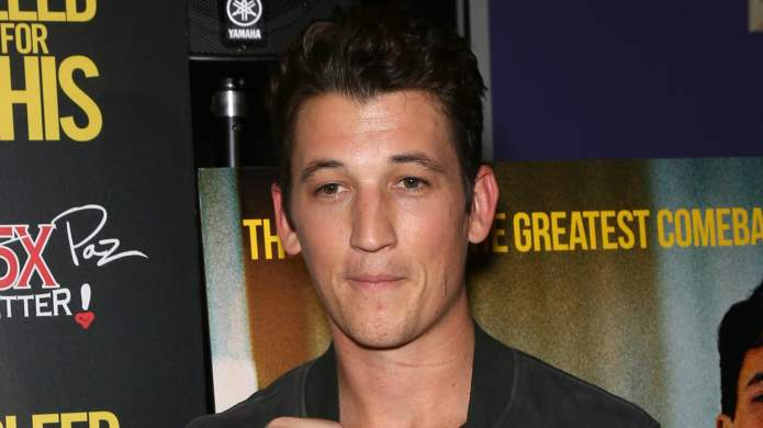 Miles Teller and his girlfriend were