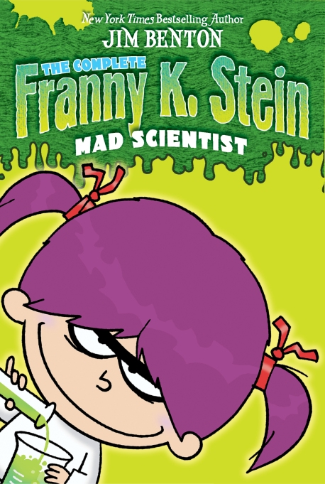 Books for girls: Franny K. Stein, Mad Scientist