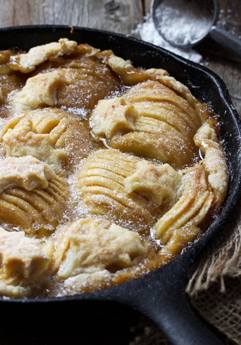 New Twists on Classic Thanksgiving Pies: Rustic Skillet Apple Pie