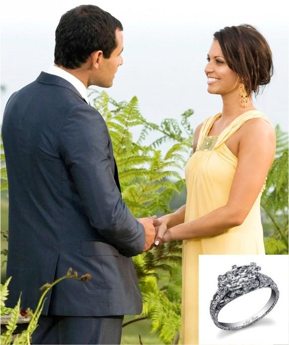 The Bachelor's Jason and Melissa