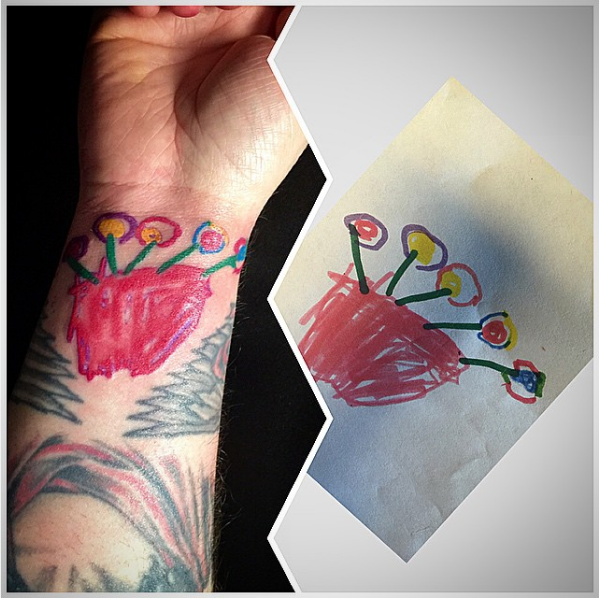 Kid's tattoo