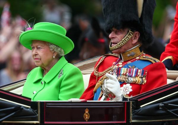Queen Elizabeth II & Prince Philip in June 2016