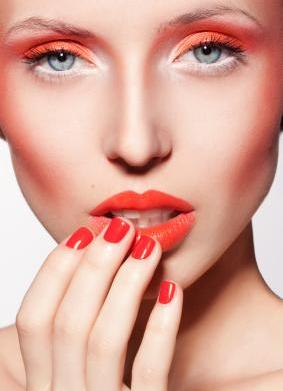 Injecting neon colour into your makeup