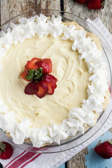 New Twists on Classic Thanksgiving Pies: White Chocolate Silk