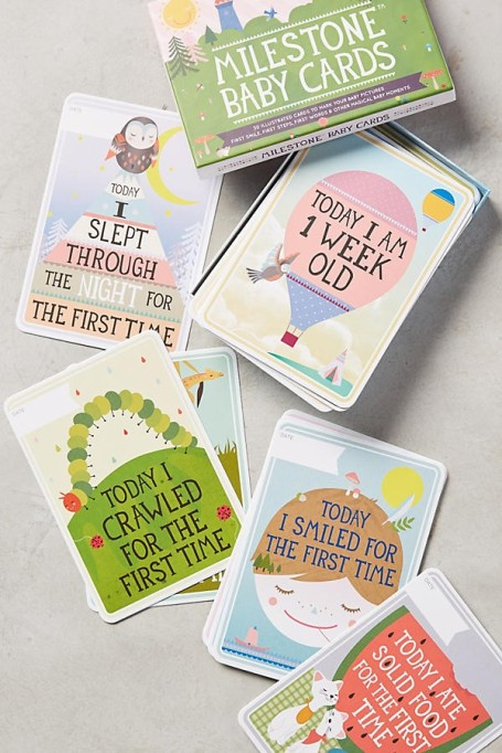 Best Baby Shower Gifts for ANY Baby | Baby Milestone Cards