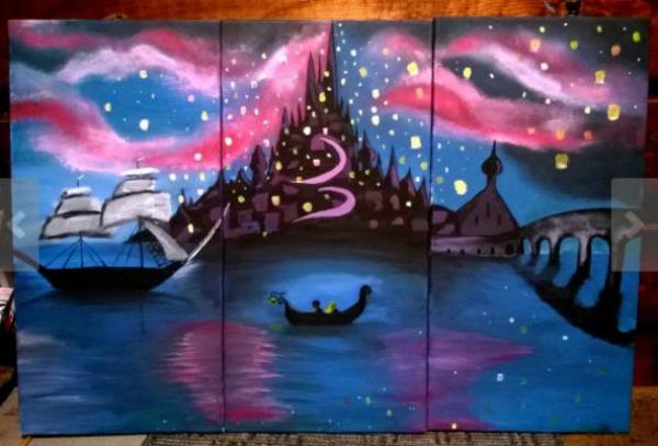 Disney Rapunzel lanterns