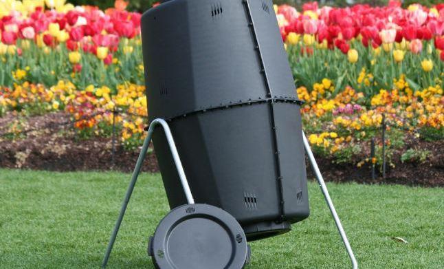 Spin Bin Compost Tumbler