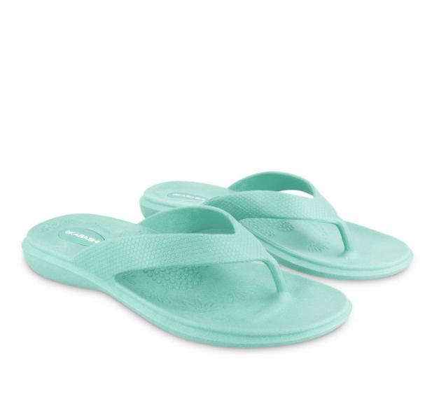 Aqua flip flop