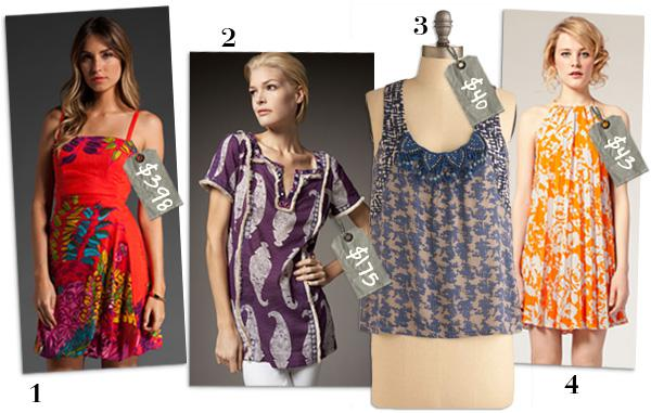 Tropical tease: Island inspired styles