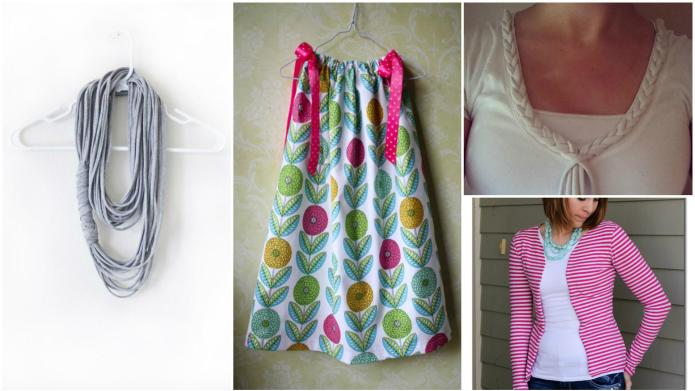 No-sew hacks to upcycle your clothing