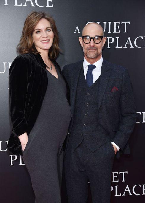 Celebrities having babies in 2018: Stanley Tucci and Felicity Blunt