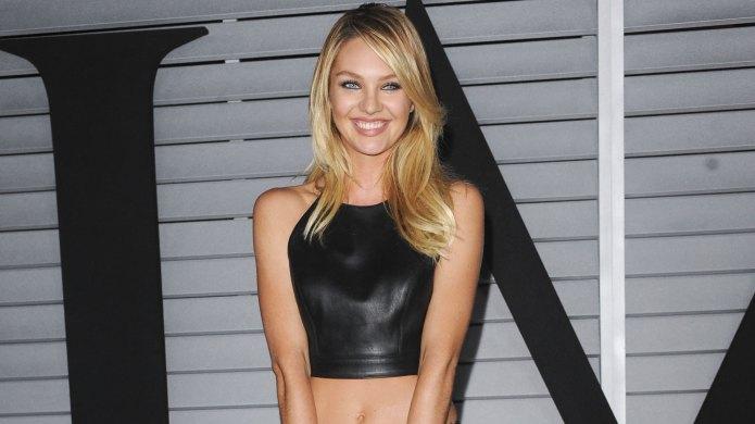 Victoria's Secret model Candice Swanepoel too