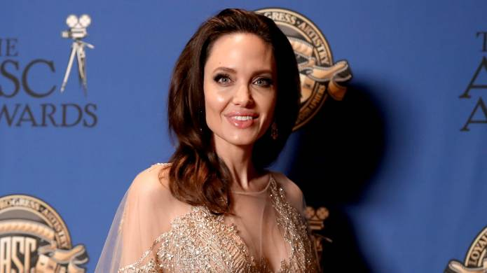 Angelina Jolie Gets Silly on the