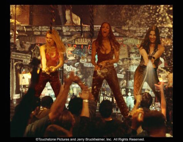 We love to watch Coyote Ugly, even though it's pretty bad