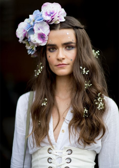 Standout Ways To Style Long Hair | Floral Waves