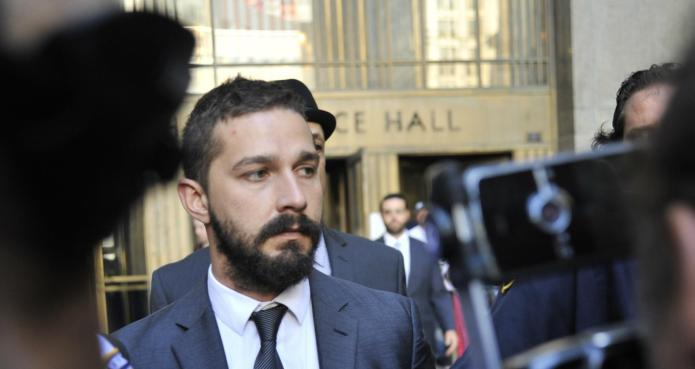 Shia LaBeouf admits guilt in disorderly