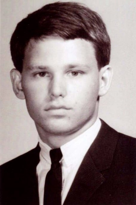 Jim Morrison Yearbook Photo