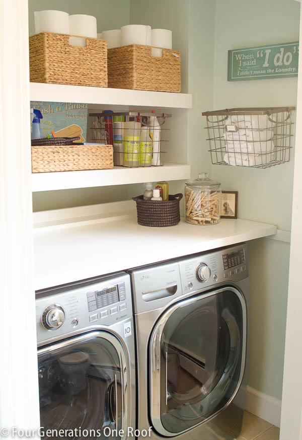 13 Life Hacks To Calm The Craze In Your Laundry Room