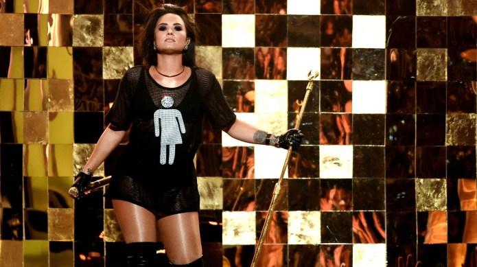 Demi Lovato advocated for trans rights