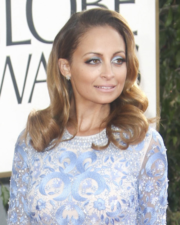 Nicole Richie at 2013 Golden Globes