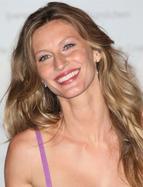 Gisele Bündchen's long waves
