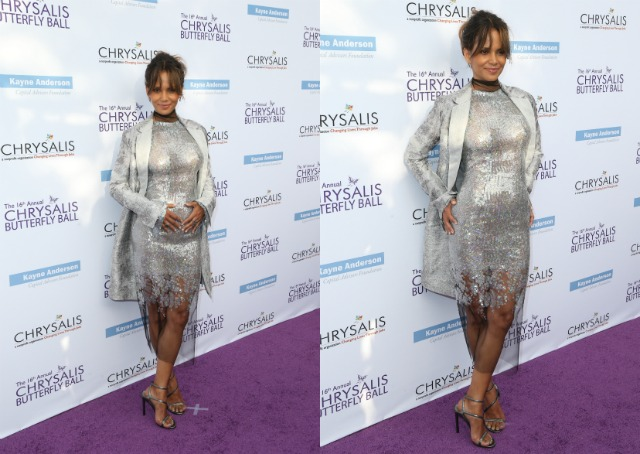 Halle Berry at Chrysalis Ball